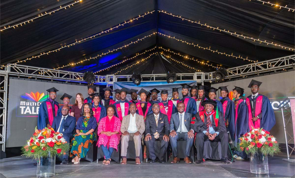 Inaugural graduation for the MultiChoice Talent Factory Southern Africa Academy!